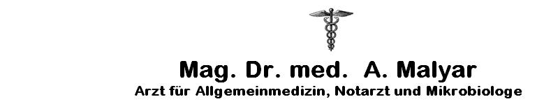 Mag. Dr. med. A.R. Malyar